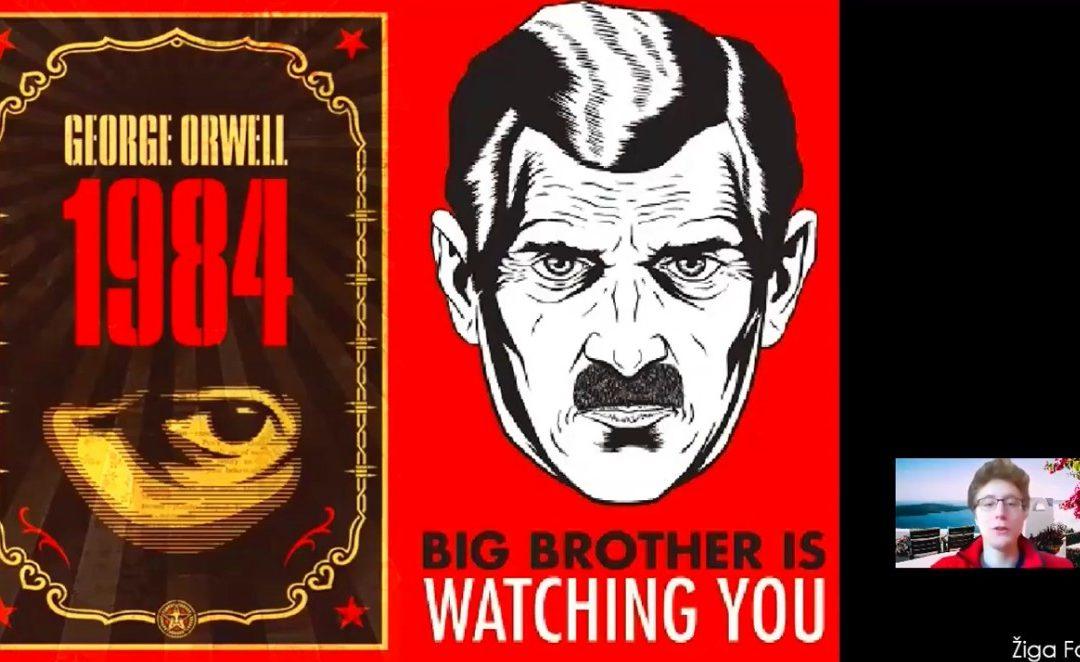 Predstavitev romana 1984 (George Orwell)