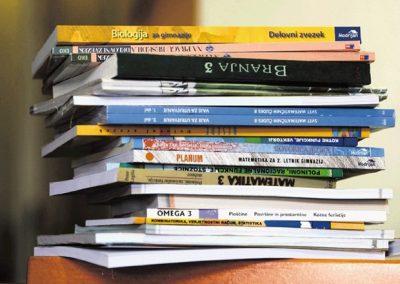 Razdeljevanje učbenikov