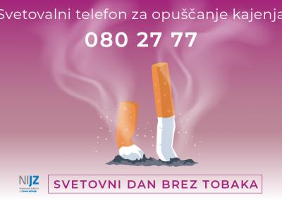 Svetovni dan brez tobaka – 31. maj