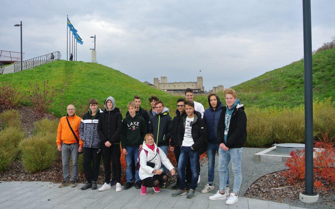 Dijaki 2. GA na mobilnosti v Estoniji